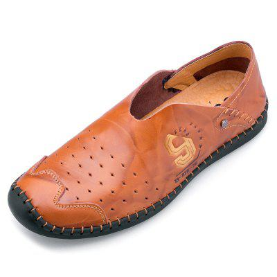 Male Summer Breathable Peas Shoes