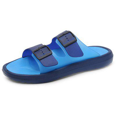 222 Men's Large Size Beach Sandals And Slippers