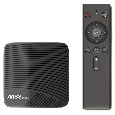 Refurbished MECOOL M8S PRO L 4K TV Box with Voice Remote Control