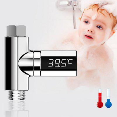 Gocomma LED Display Water Shower Thermometer Monitor for Baby Care