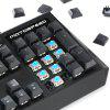 Motospeed CK95 Mechanical Game Wired Keyboard  Macro Programmable Keys - BLACK