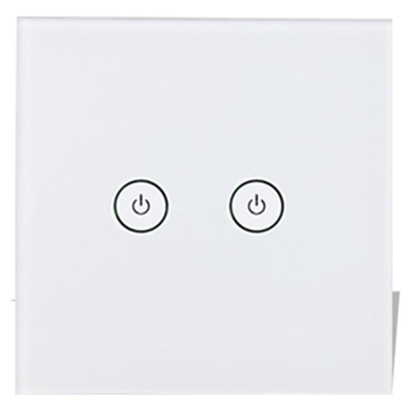 Gocomma SW03 WiFi Touch Smart Switch - White 3 way