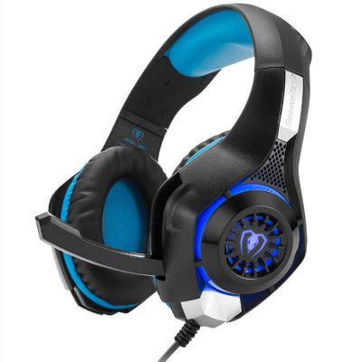 Beexcellent GM-1 Gaming Headset z Wheat LED Light