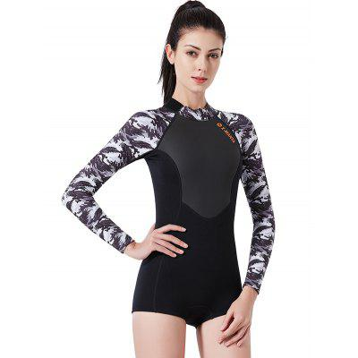 DIVE SAIL WS - 19475 Female Long Sleeves Warm Diving Suit