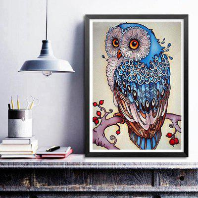 DIY Owl Cross-stitch Decorative Animal Diamond Painting