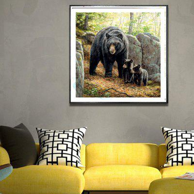 DIY Bear Diamond Painting 5D Three-dimensional Painted for Children's Bedroom Decoration