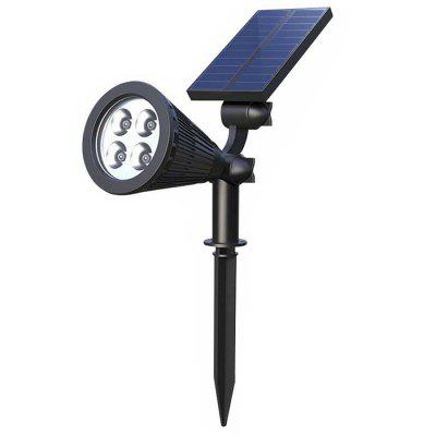 BRELONG HC - 3A04 Kleurrijke 4 LED Solar Light Waterproof Outdoor