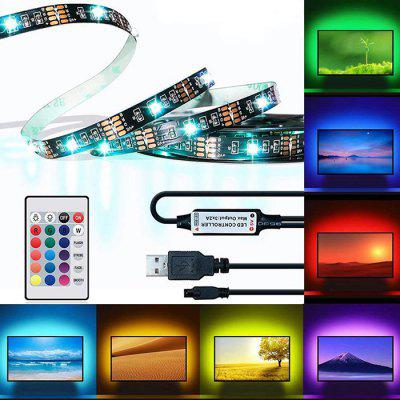 BRELONG DT041 TV LED Luce a Strisca USB Monitore di Luce