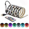 BRELONG DT041 Multi Color LED Strip Light podsvícení TV - ČERNá