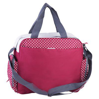 INSULAR 10034 Polka Dot Mummy Bag Ombro Crossbody