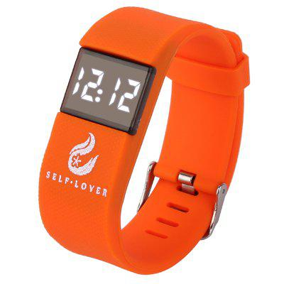 SELF LOVER HZ - 74 Led Reloj de Cuarzo para Unisex