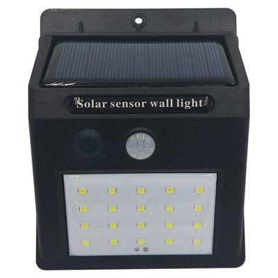 BRELONG Solar Outdoor Wall Lamp Garden 20 LED
