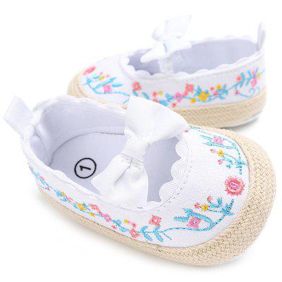 C - 254 Female Baby Soft Bottom Toddler Shoes
