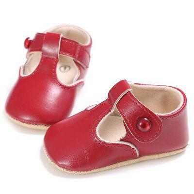 C - 296 0 - 1 Years Old Female Baby Soft Bottom Toddler Shoes