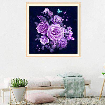 DIY Flower Diamond Painting 5D Three-dimensional Painted for Children's Bedroom Decoration