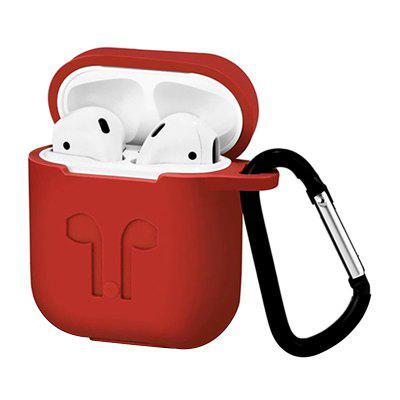 Wireless Bluetooth Earphone Protective Case with Hook for Airpods