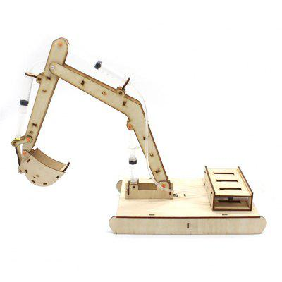 Hydraulic Excavator DIY Science Education Toy Model for Kids
