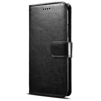 Naxtop TPU+PU Wallet Flip Holder Protective Phone Case for Lenovo S5 Pro