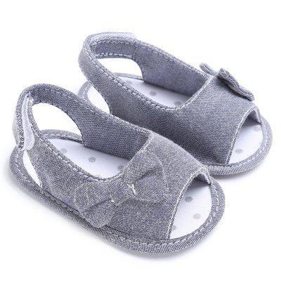 Anti-skid Girl Baby Bowknot Sandal