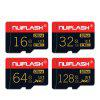 NUIFLASH Class 10 TF / Micro SD Memory Card with Holder - BLACK