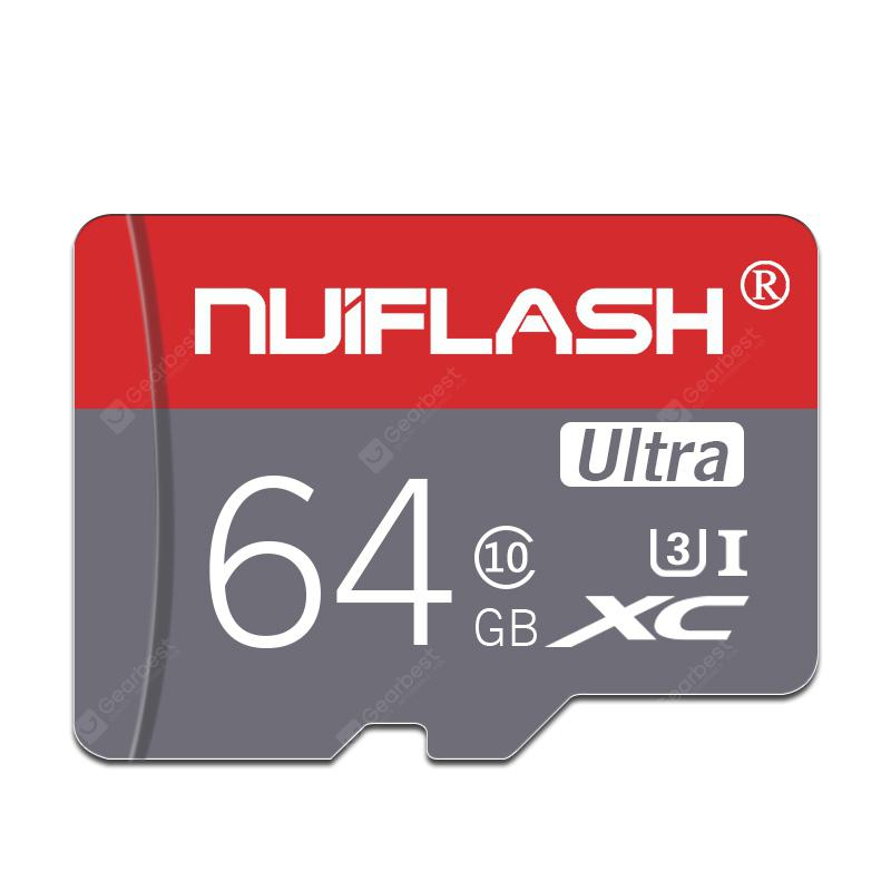 Nuiflash ??TF / Micro SD Memory Card with Holder - Multi 64GB