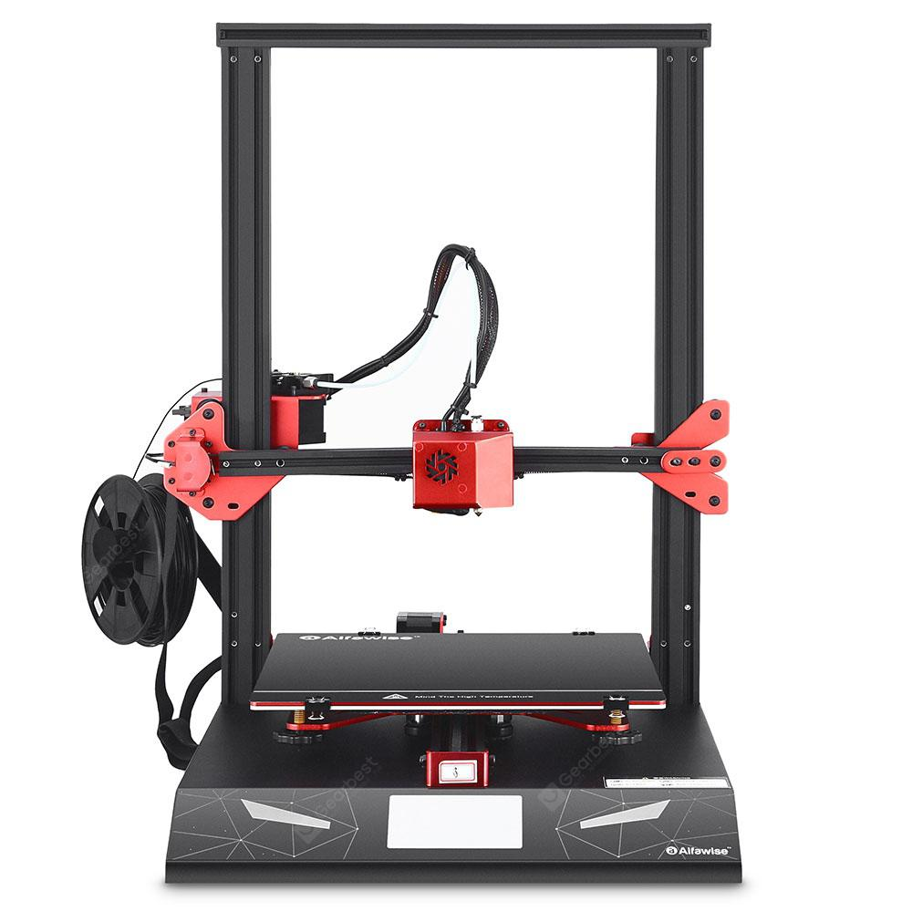 Alfawise U20 Pro Creative 3D Printer - Black EU Plug