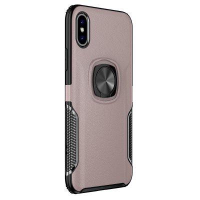 Magnetic Ring Holder Back Cover Phone Case for iPhone X