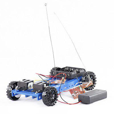 PXWG KB000027 Four-way Remote Control DIY Car