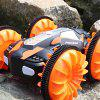 LH - C013 Four-wheel Amphibious Stunt Car - PAPAYA ORANGE