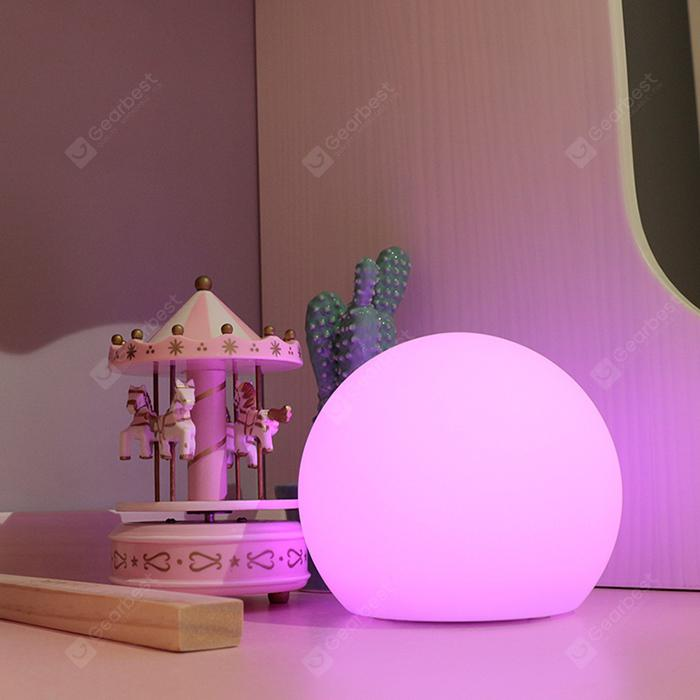Smart Touch Control Colorful Ball Night Light - Natural White S
