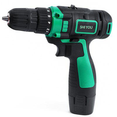 Shiyou 12V Two-way Cordless Electric Drill