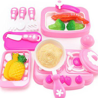 Cooking Noodles Pretend Play Kitchen Toy for Kids