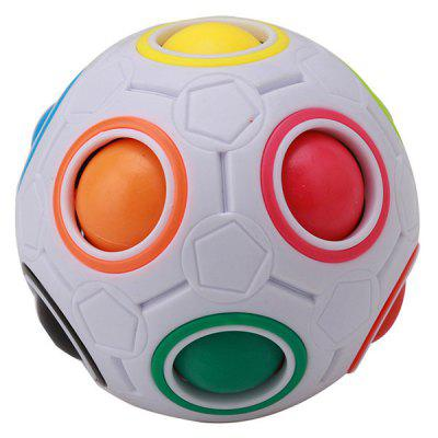 Educational Magic Cube Speed ​​Rainbow Football