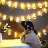 Creative LED Clip Romantic String Light - TRANSPARENT