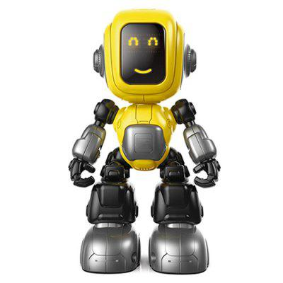 Interactive Light Music Alloy Robot Educational Toy