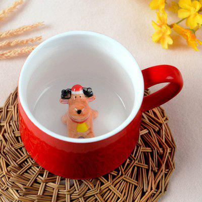 3D Animal Coffee Cup Mok