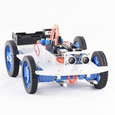 PXWG 1TJ00011 Infrared Ultrasonic Obstacle Avoidance Car Set
