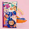 TongChang Early Education Animal Livro de Pano - MULTI-A
