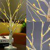 LED Tree Shape Indoor Night Light - WHITE