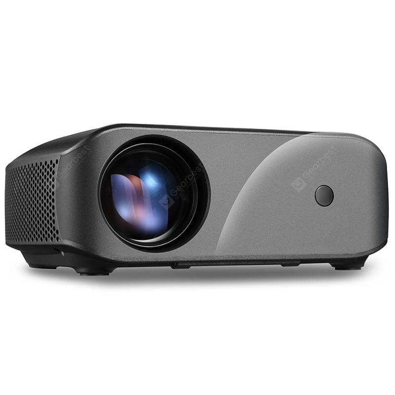 VIVIBRIGHT F10 LCD Home Entertainment Video Projector - Black EU Plug