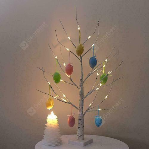 Led Artificial Leather Birch Tree Light