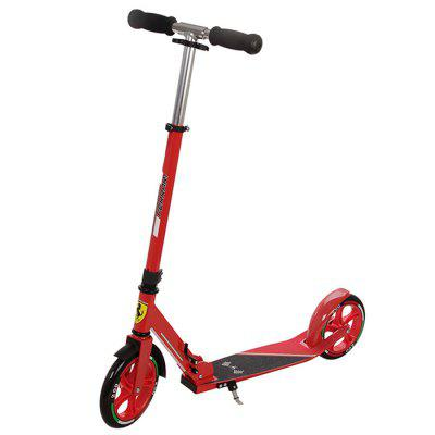 Ferrari Durable Adjustable Stable Foldable Scooter
