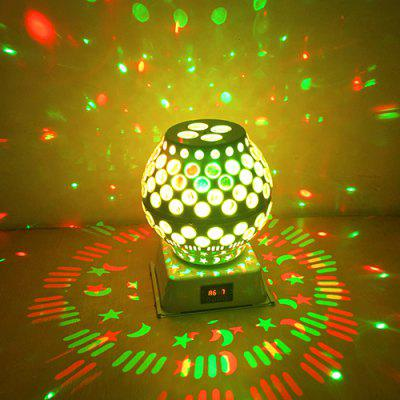 LED Lantern KTV Voice Control Rotating Stage Light