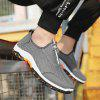 Men Comfortable Breathable Hiking Shoes - GRAY