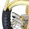 SLADE Flat Four-button Split Type B Tone Round Horn - GOLD