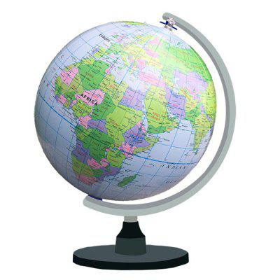 Inflatable Globe Beach Ball PVC Map Plate Children's Teaching Toy
