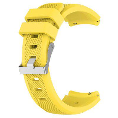 Durable Silicone Twill Double Clasp Adjustable Wristband Strap
