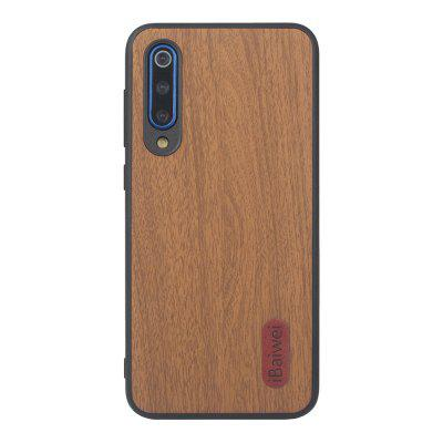 iBaiwei Wood Texture Phone Case for Xiaomi Mi 9