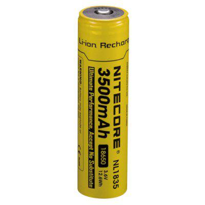 Nitecore NL1835 Li-ion Rechargeable Battery