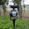 BRELONG TB - 14 Solar Powered Projection Street Light - BLACK